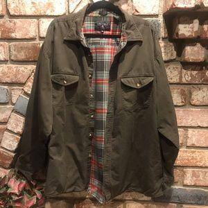 COLEMAN lightweight flannel lined jacket